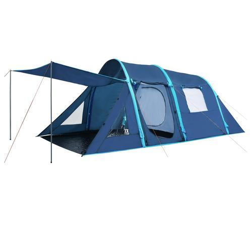 vidaXL Campingzelt mit aufblasbaren Stangen 500×220×180 cm Blau