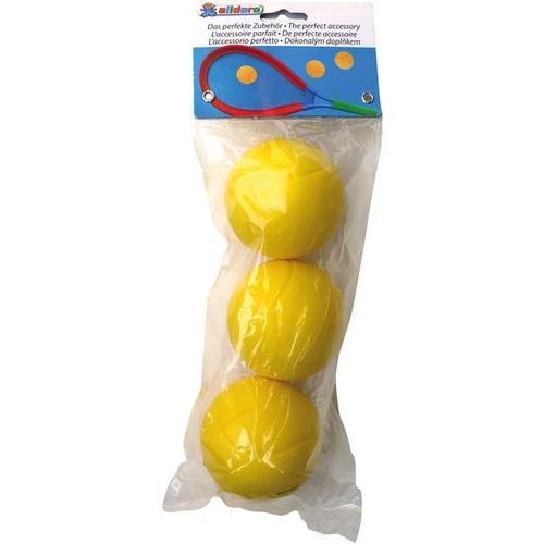JAKO-O Ersatz-Softbälle, 3 Stück, gelb