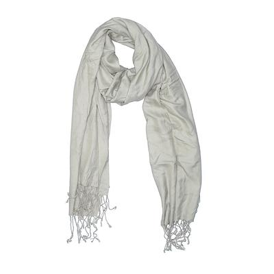 Scarf: Green Solid Accessories