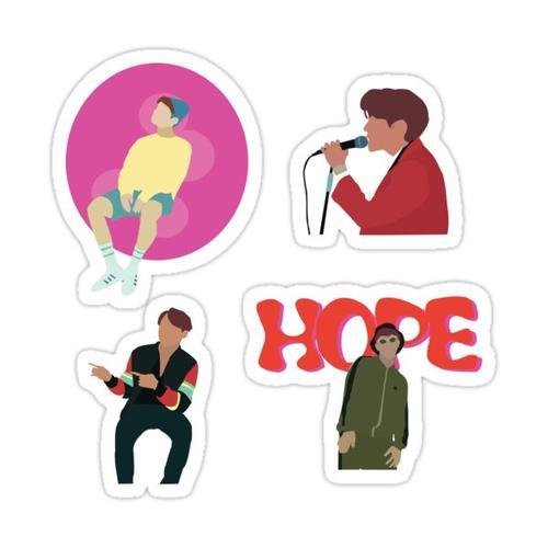 BTS J-Hope- Mixtape Sticker