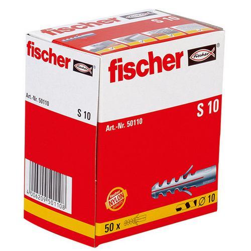 Fischer fischer Dübel S 10 50 Stück