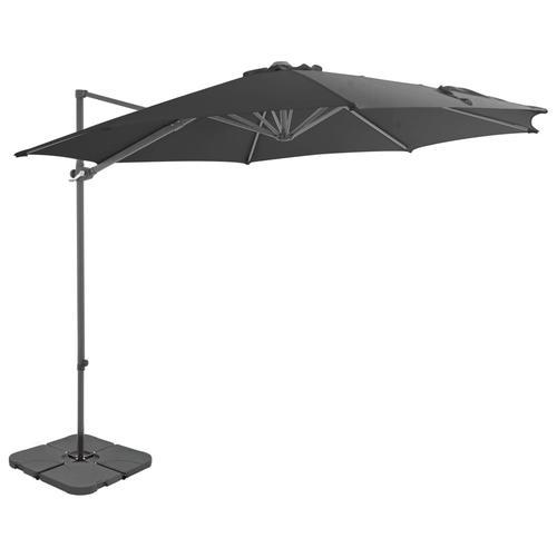 vidaXL Sonnenschirm mit Schirmständer Anthrazit
