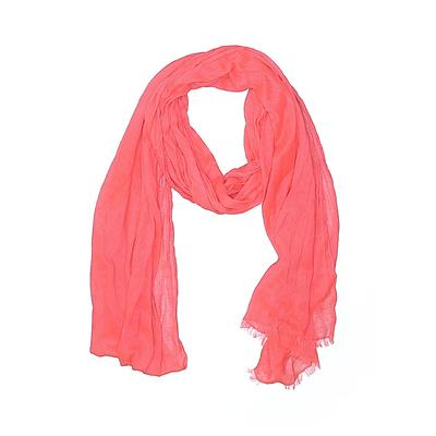 Scarf: Pink Solid Accessories