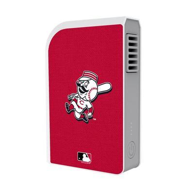 """""""Cincinnati Reds Solid 6000 mAh Phone Charging Powerbank & Personal Fan"""""""