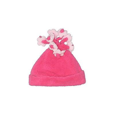 Winter Hat: Pink Solid Accessories - Size Medium