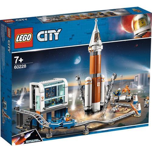 LEGO® City Weltraum Weltraumrakete mit Kontrollzentrum 60228, bunt