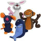 Multipet Deedle Dude Singing Plush Dog Toy, Character Varies, 1 count
