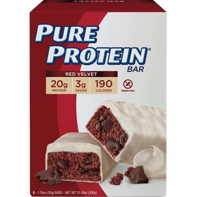 Pure Protein Pure Protein Red Velvet Cake-6 Bars