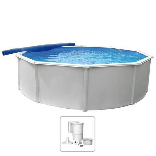 KWAD Schwimmbad Steely Deluxe Rund 4,6 x 1,2 m