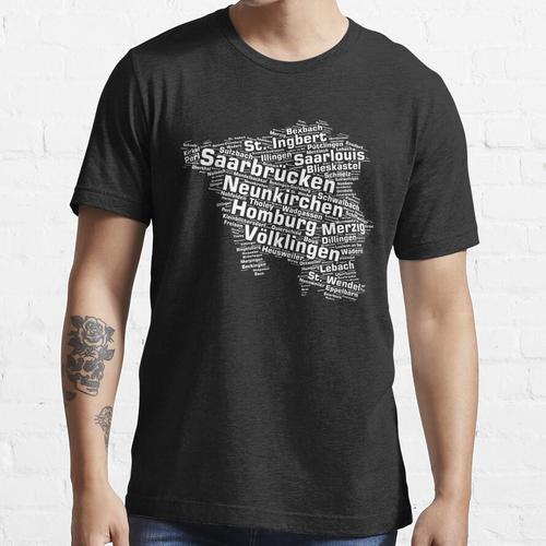 Saarland Bundesland: Saarländische Städte Essential T-Shirt