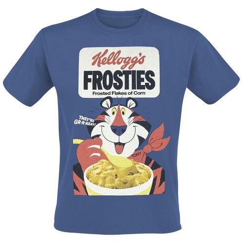 Kellogg's Frosties Herren-T-Shirt - blau - Offizieller & Lizenzierter Fanartikel