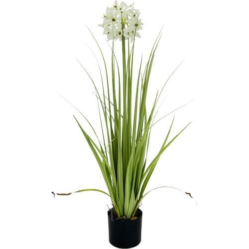 I.GE.A. Kunstblume, im Topf lila Kunstblume Künstliche Zimmerpflanzen Kunstpflanzen Wohnaccessoires