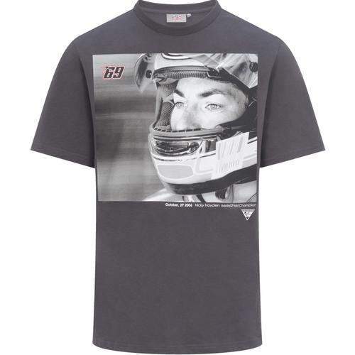 GP-Racing 69 Foto T-Shirt, schwarz-grau, Größe S