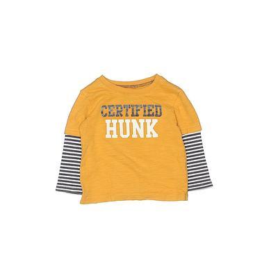 Carter's 3/4 Sleeve T-Shirt: Yel...