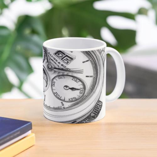 Luxus-Armbanduhr Tasse