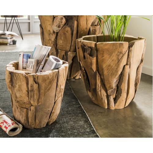 die Faktorei Holztopf Rustic 60x60 cm
