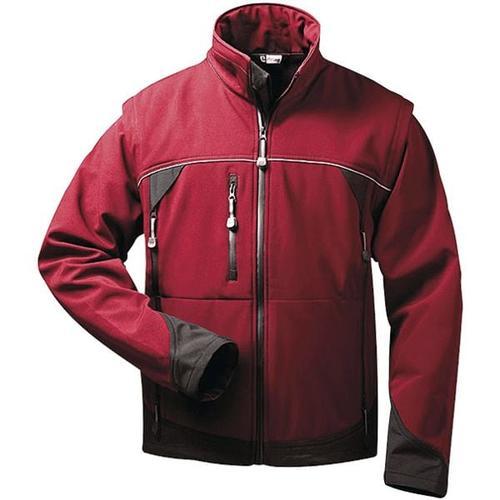 Softshell-Jacke 2-in-1 Größe L rot, elysee