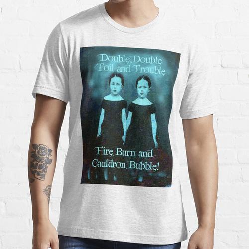 Doppel, Doppel, Mühe und Ärger Essential T-Shirt