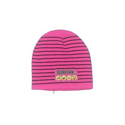 Assorted Brands Beanie Hat: Pink Stripes Accessories