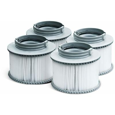 Alice's Garden - Pack de 4 filtres V1 pour spa MSPA- Camaro, Super Camaro, Alpine 4 et 6, Silver