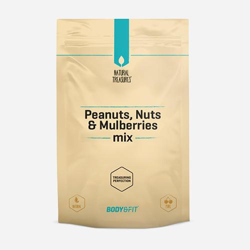 Body&Fit Peanuts, Nuts & Mulberries Mix