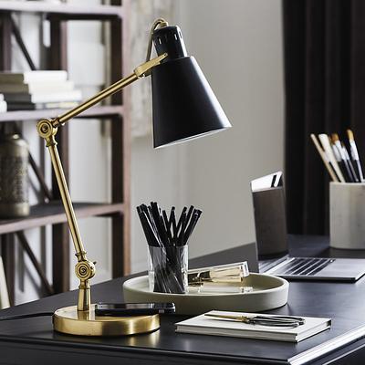 Xander Charging Task Lamp - Ballard Designs