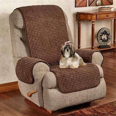 Premier Puff Furniture Protector Recliner/Wing Chair, Recliner/Wing Chair, Crimson