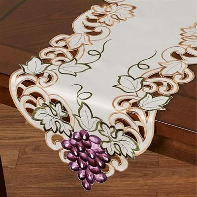 Cabernet Table Runner Light Cream, 14 x 90, Light Cream