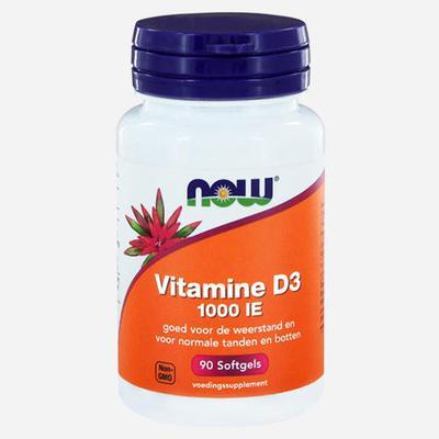 Now Foods Capsules molles Vitamin D3 (1000 UI)