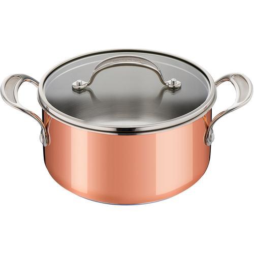 Tefal Kochtopf Triply Copper by Jamie Oliver, Kupfer, (1 tlg.), Induktion braun Gemüsetöpfe Töpfe Haushaltswaren