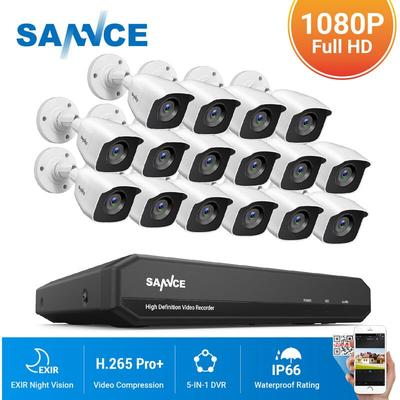 16CH 1080N 720P HD Security Syst...