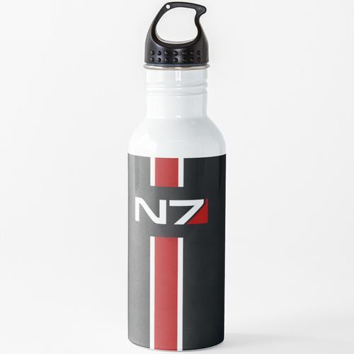 N7 Emblem, Mass Effect Wasserflasche