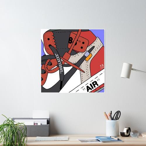 Aj1 cremefarben Poster