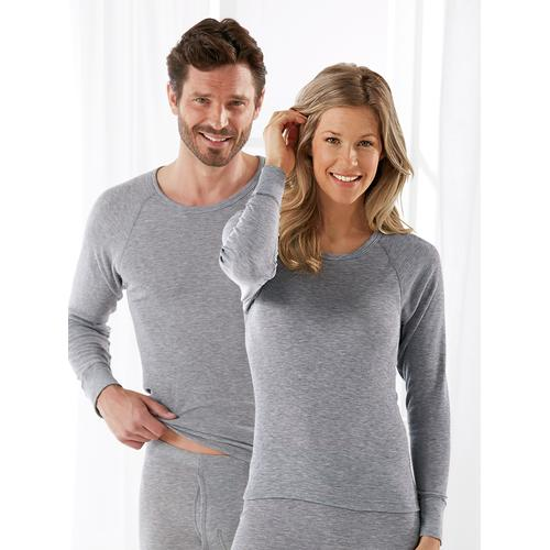 Avena Herren Shirts Grau gemustert