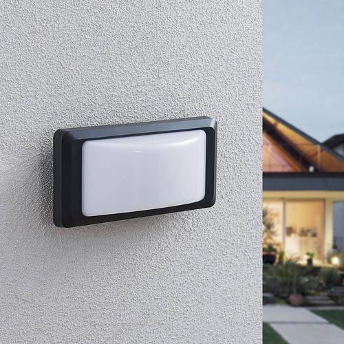 LED-Außenwandlampe Iskia ohne Streifen