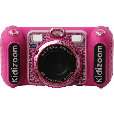 Vtech Kinderkamera Kidizoom Duo DX, pink, 5 MP, inklusive Kopfhörer rosa Kinder Elektronikspielzeug