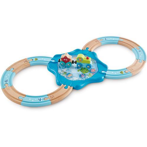 Hape Spielzeug-Eisenbahn Holzschienen Unterwasserwelt blau Kinder Ab 18 Monaten Altersempfehlung