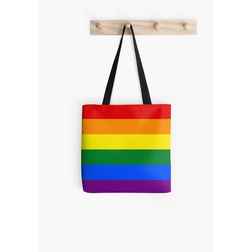 Gay Pride Regenbogenfahne Tasche