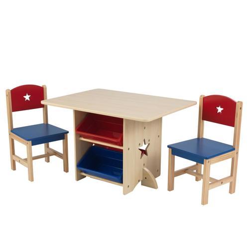 KidKraft Sterntisch mit 2 Stühlen Set