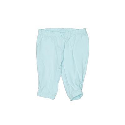 Carter's Leggings: Blue Solid Bottoms - Size Newborn
