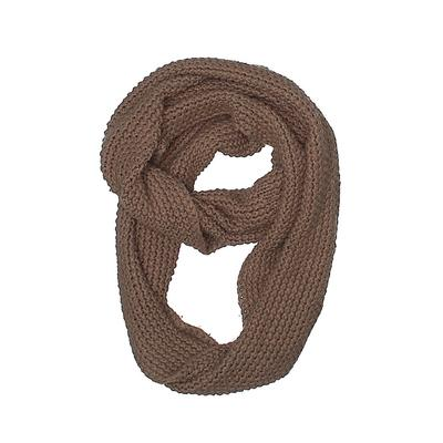 Scarf: Brown Solid Accessories