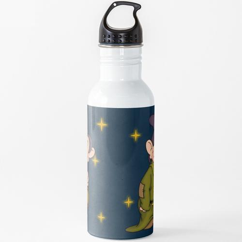 Blöde Laterne Wasserflasche
