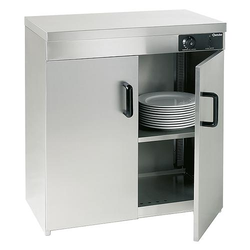 Bartscher Wärmeschrank - 2 Türen - für 110-120 Teller 103122