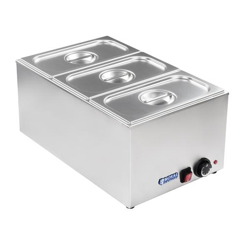 Royal Catering Bain Marie - GN Behälter - 1/3 RCBM-1/3-150-GN