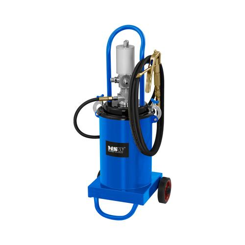 MSW Fettpresse pneumatisch - 12 Liter - fahrbar - 240-320 bar Pumpendruck PRO-G 12