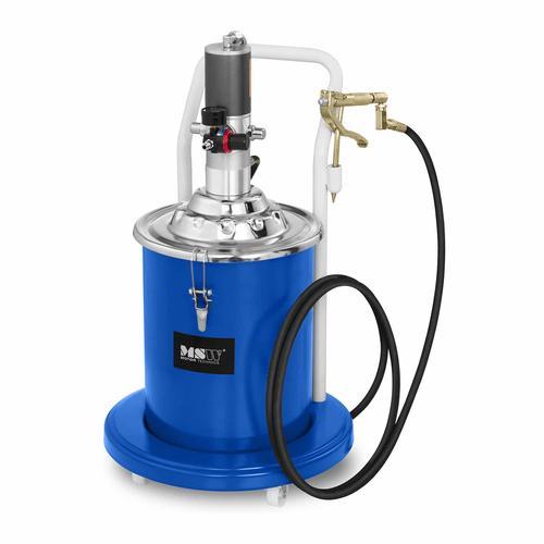 MSW Fettpresse pneumatisch - 20 Liter - fahrbar - 300-400 bar Pumpendruck PRO-G 20