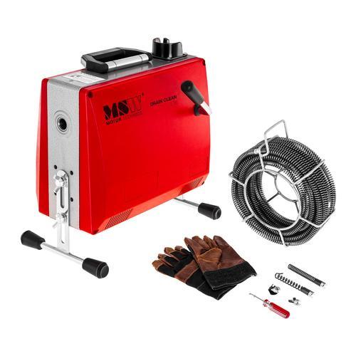 MSW Rohrreinigungsmaschine - 390 W - 400 U/min - Ø 30 - 100 mm MSW-DRAIN CLEAN 2.3E