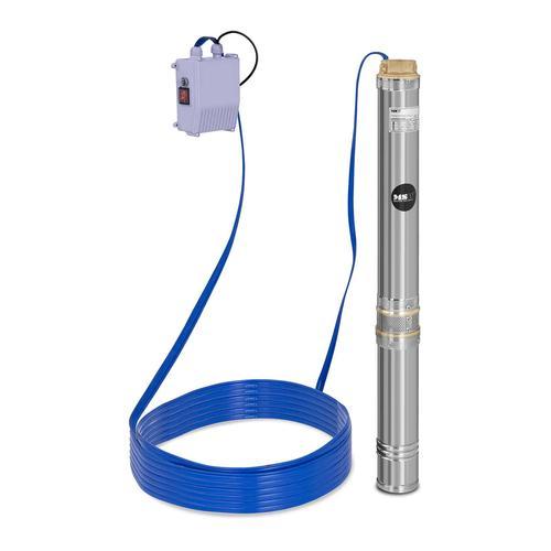 MSW Brunnenpumpe - 10.800 L/h - 1.100 W - Edelstahl MSW-SPP48-110