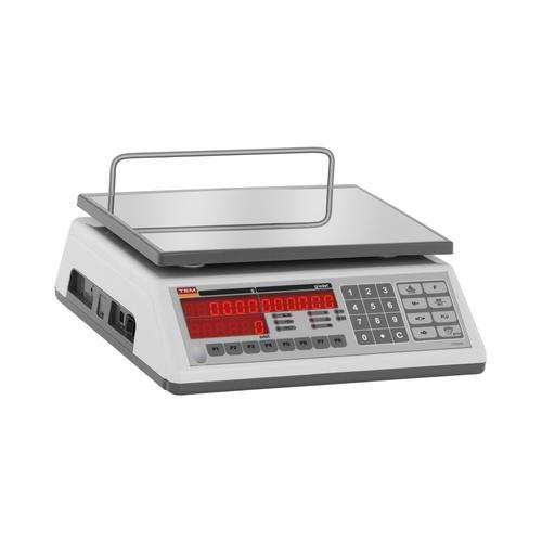 TEM Zählwaage - geeicht - 3 kg / 1 g TNS003D-O