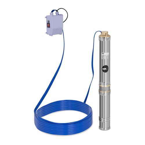 MSW Brunnenpumpe - 6.000 L/h - 550 W - Edelstahl MSW-SPP44-055